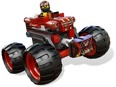 Конструктор LEGO (ЛЕГО) Racers 9092  Crazy Demon