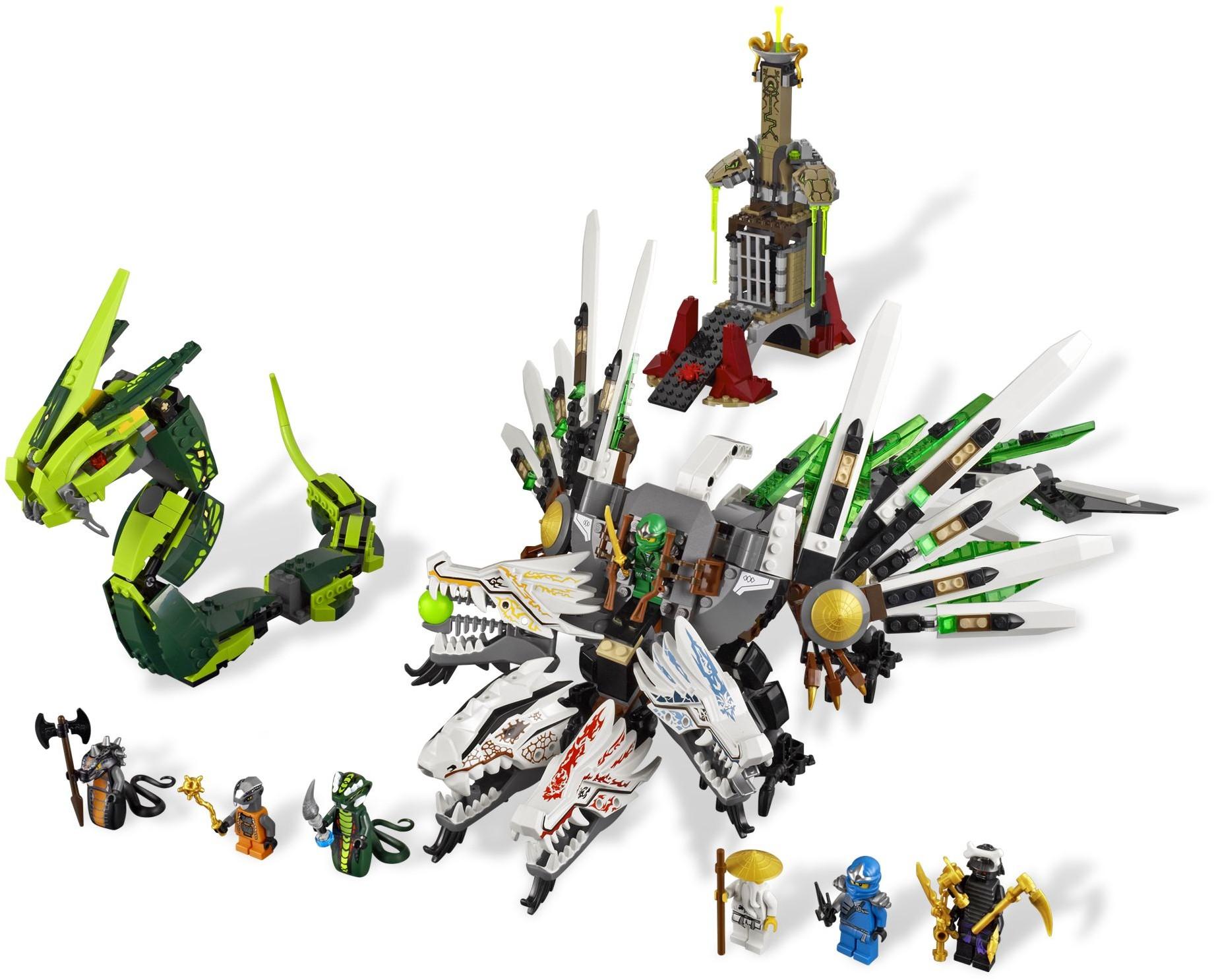 Lego 9450 Epic Dragon Battle