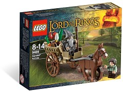 Конструктор LEGO (ЛЕГО) The Lord of the Rings 9469  Gandalf Arrives