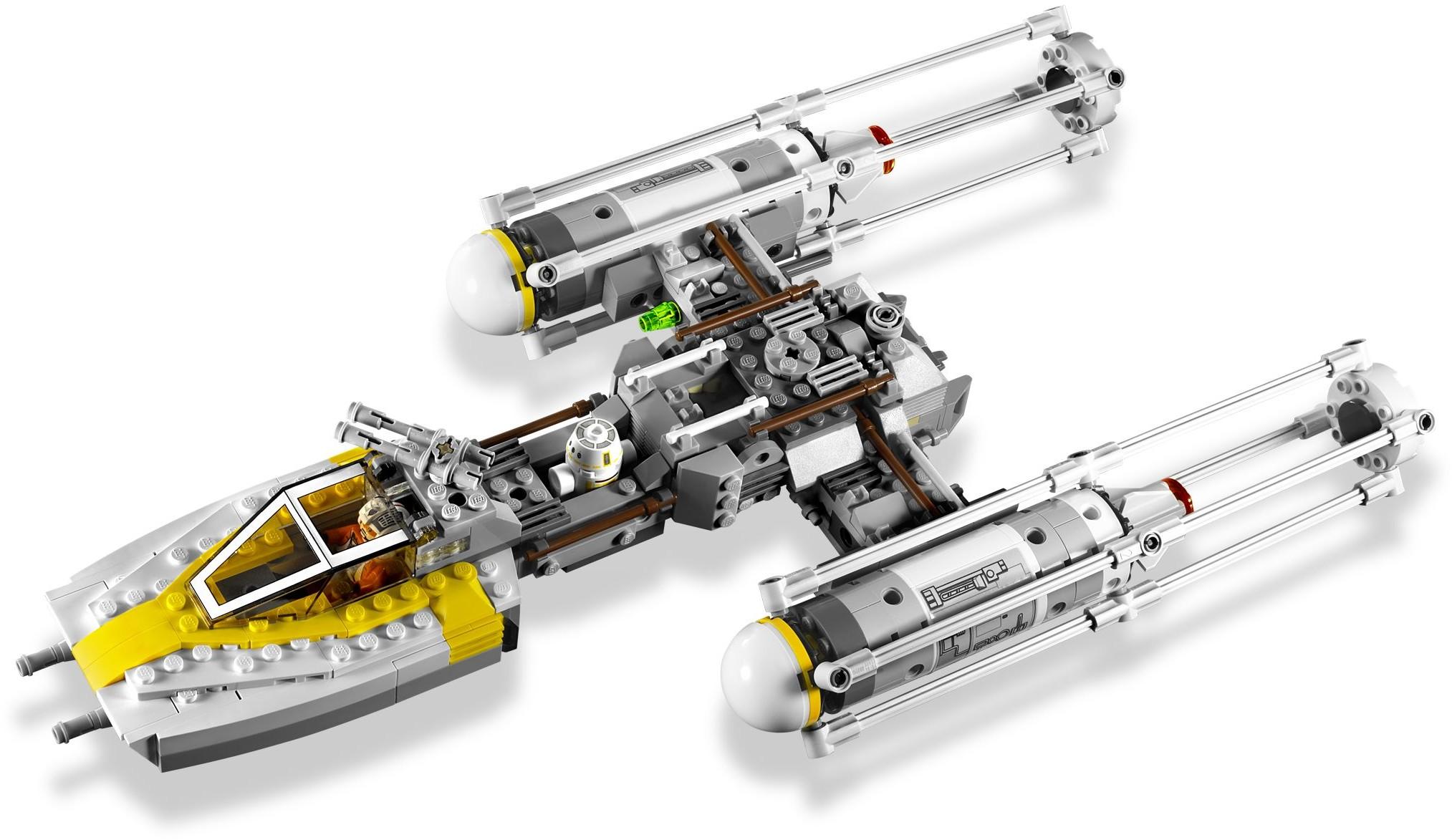 Bricktoyco Lego 75172 Star Wars Rogue One Y Wing Starfighter Speed