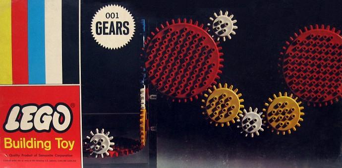 Изображение набора Лего 001 Gears