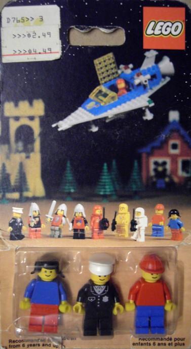 Изображение набора Лего 0011 Town Minifigures
