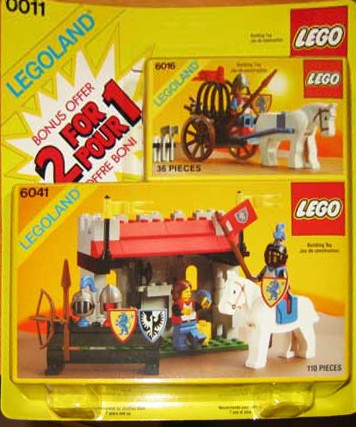 Lego 0011 2 For 1 Bonus Offer image
