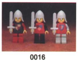 Изображение набора Лего 0016 Castle Minifigures