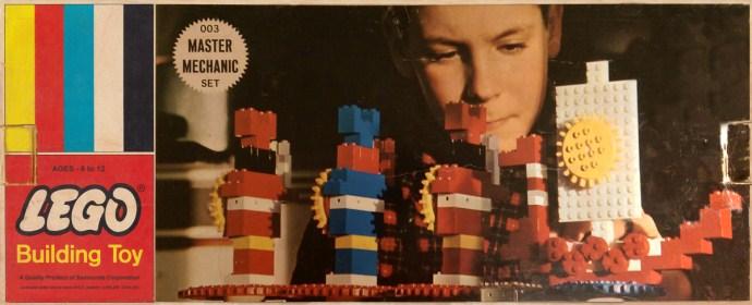 Изображение набора Лего 003 Master Mechanic Set