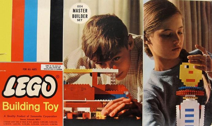 Lego 004 Master Builder Set image