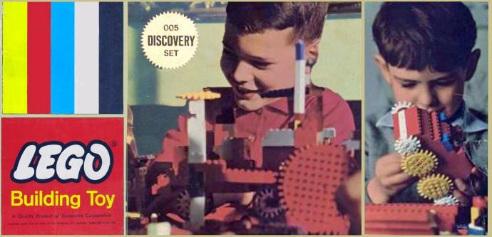 Изображение набора Лего 005 Discovery Set
