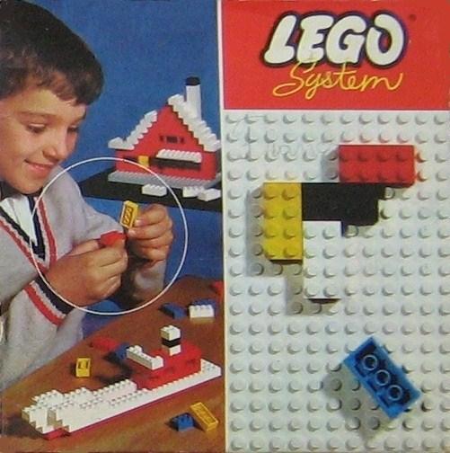 Изображение набора Лего 020 Basic Building Set in Cardboard