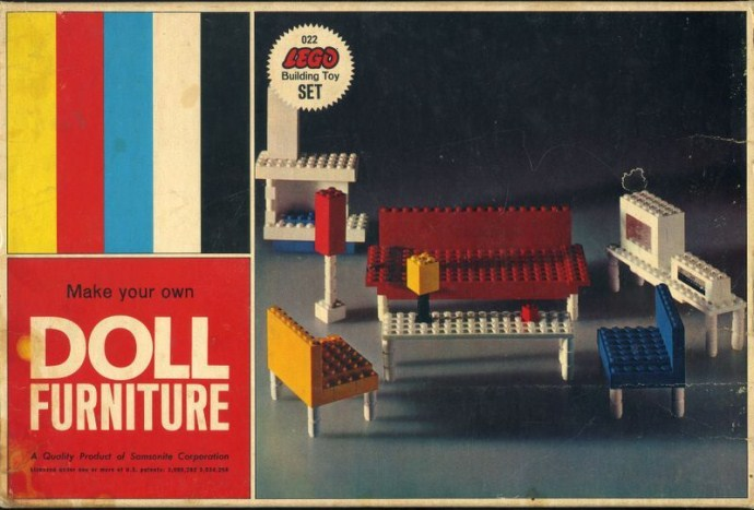 Lego 022 Doll Furniture image