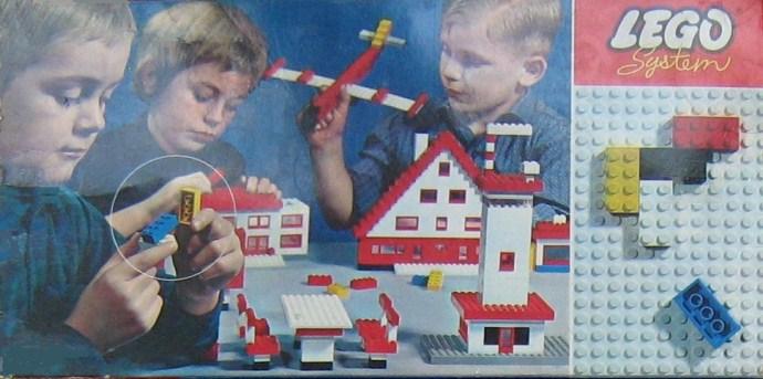 Изображение набора Лего 040 Basic Building Set in Cardboard