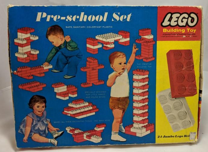 Изображение набора Лего 041 Pre-School Beginners Set