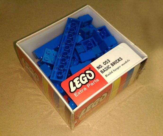 Изображение набора Лего 053 Assorted basic bricks - Blue