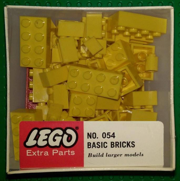 Lego 054 Assorted basic bricks - Yellow image