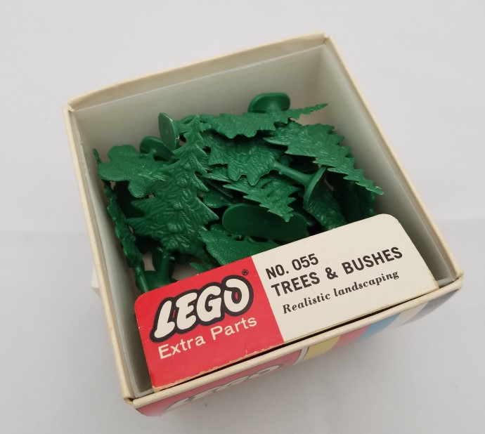 Lego 055 Trees & Bushes image