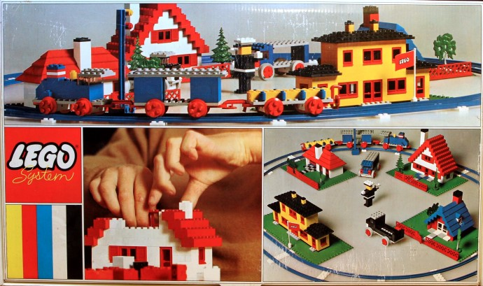 Lego 080 Basic Building Set with Train image