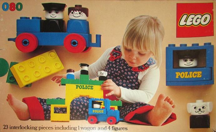 Изображение набора Лего 080 Police Station