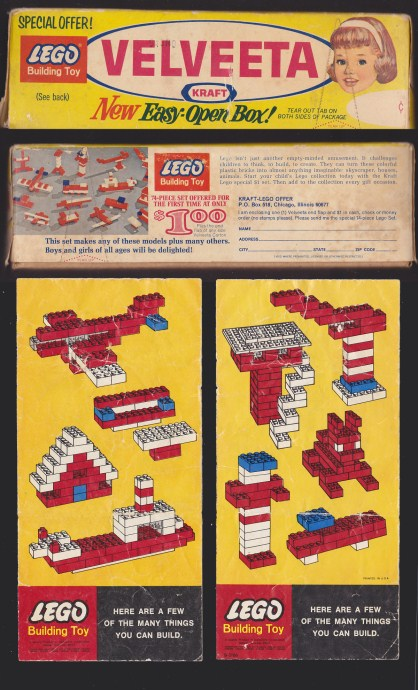 Lego 1 Promotional Set No. 1 (Kraft Velveeta) image
