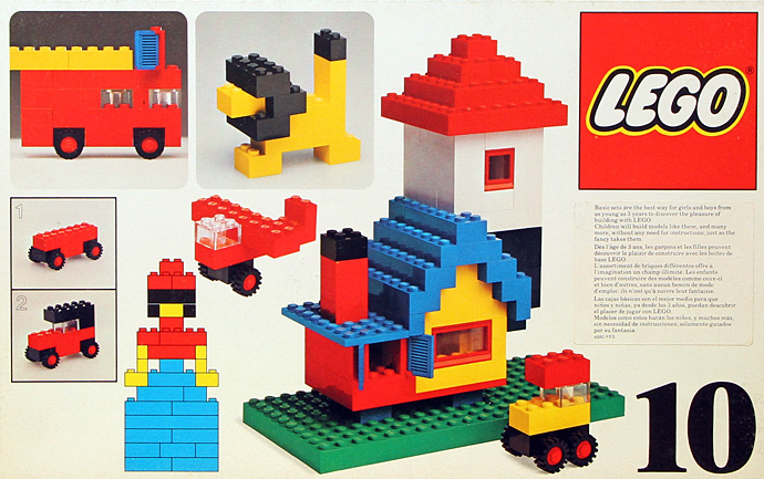 Lego 10 Basic Building Set, 3+ image