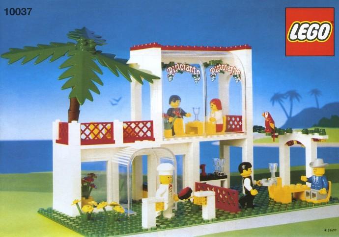 lego friends restaurant instructions