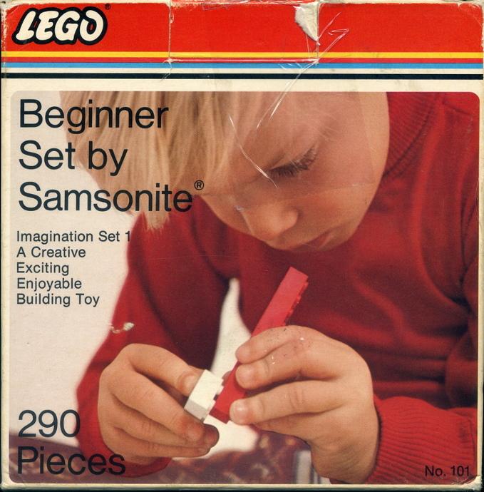 Изображение набора Лего 101 Imagination Beginner Set 1