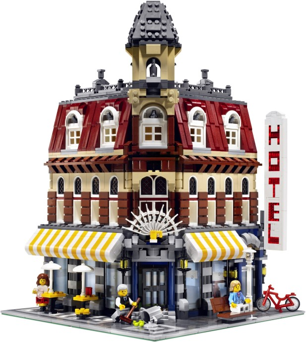 10182 1 Cafe Corner Brickset Lego Set Guide And Database