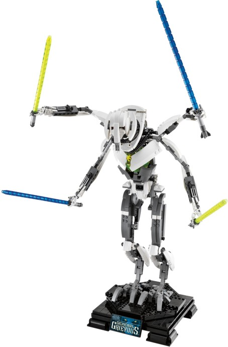 General Grievous on new lego movie sets
