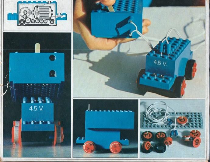 Lego 102 4.5V Motor Set image
