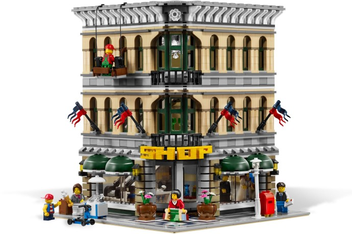 10211 1 grand emporium brickset lego set guide and database. Black Bedroom Furniture Sets. Home Design Ideas