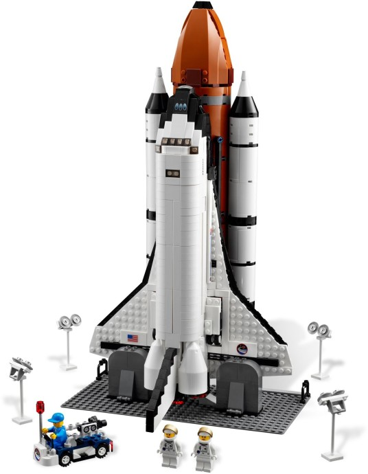 lego space shuttle and plane - photo #32