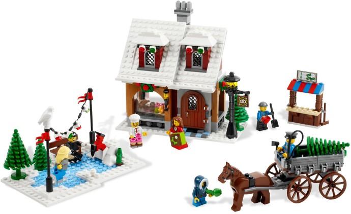 Advanced Models Winter Village Brickset Lego Set