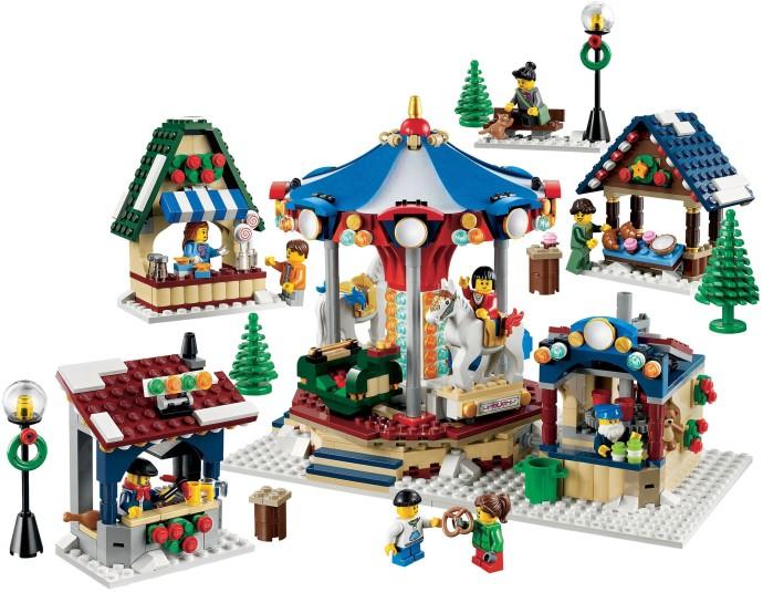 Winter village station : lego