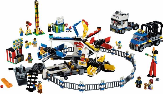 10244 Fairground Mixer unveiled!   Brickset: LEGO set guide and ...