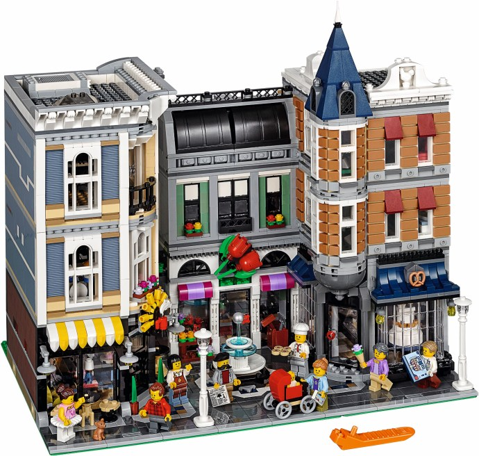 10255 1 assembly square brickset lego set guide and. Black Bedroom Furniture Sets. Home Design Ideas