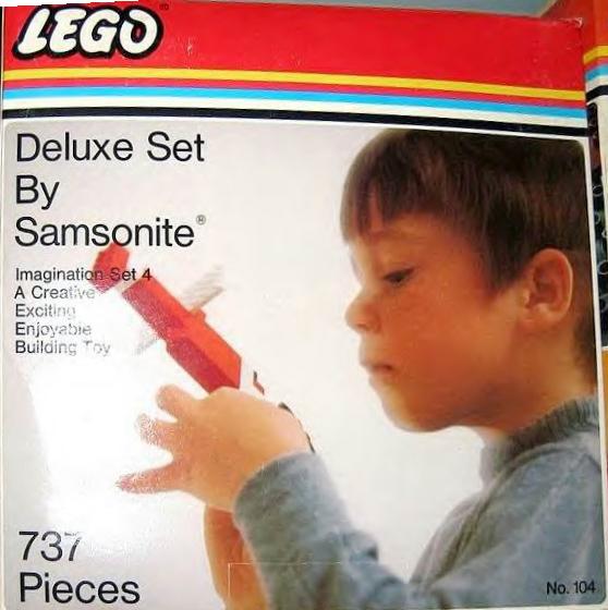 Изображение набора Лего 104 Imagination Deluxe Set 4