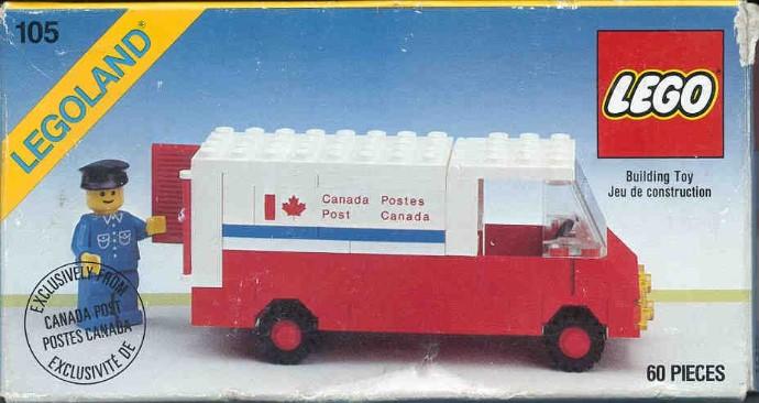Lego 105 Mail Van image