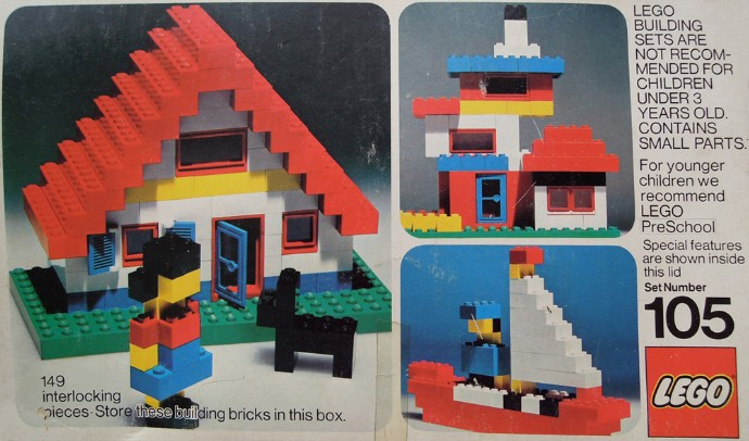 Lego 105 Building Set image