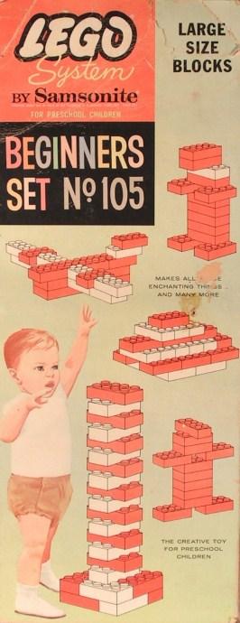 Изображение набора Лего 105 Pre-School Beginners Set