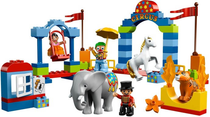 Lego 10504 My First Circus image