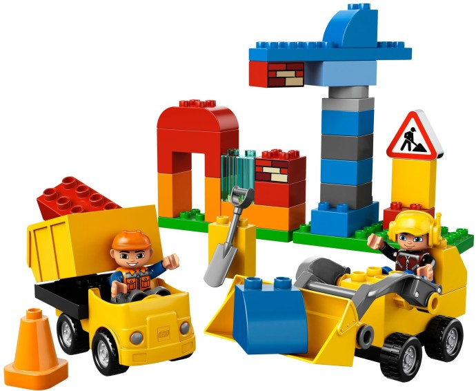 10518 1 My First Construction Site Brickset Lego Set Guide And