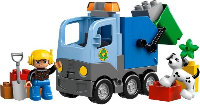 10519 1 Garbage Truck Brickset Lego Set Guide And Database