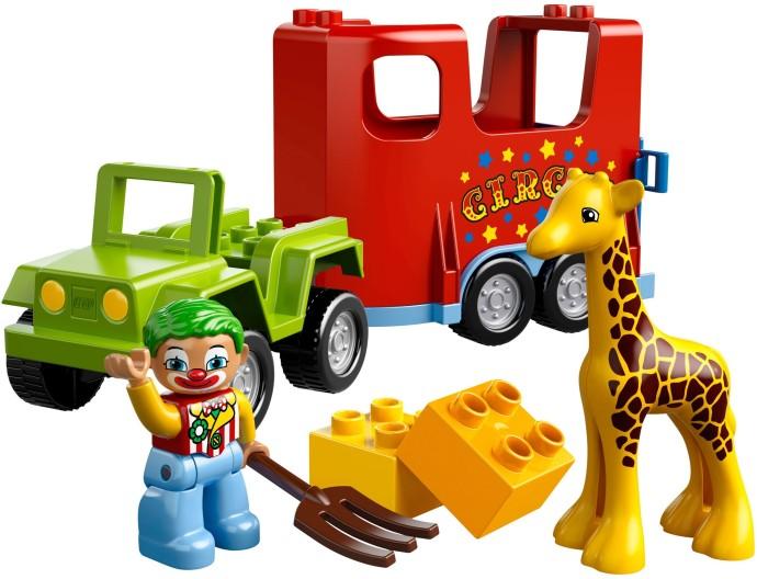 Изображение набора Лего 10550 Circus Transport