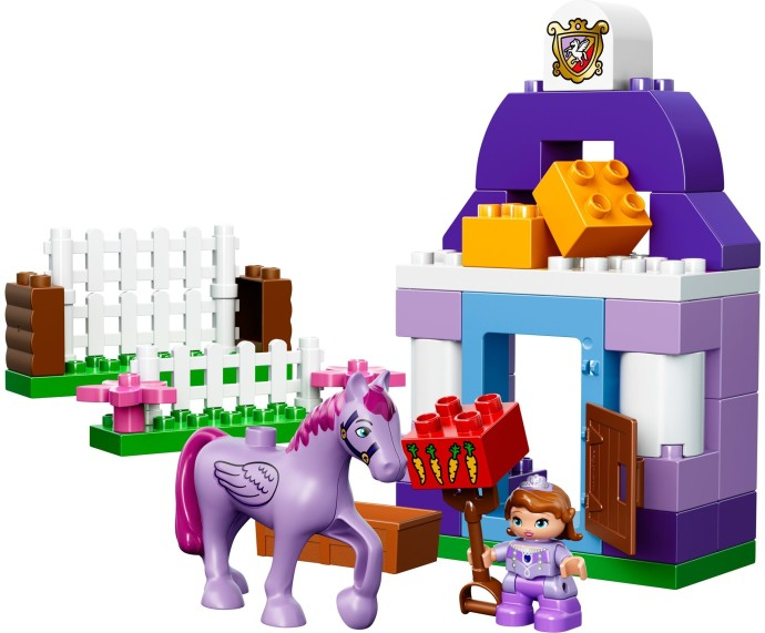 10594-1: Sofia the First Royal Stable | Brickset: LEGO set guide and ...