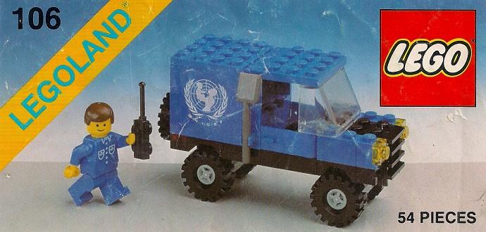 Изображение набора Лего 106 UNICEF Van