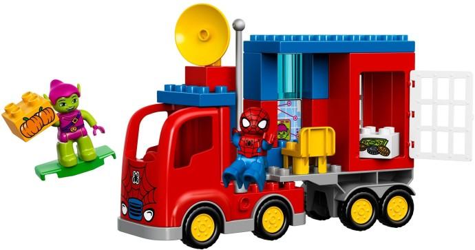 Lego Spiderman Malvorlagen Star Wars 1 Lego Spiderman: 10608-1: Spider-Man Spider Truck Adventure
