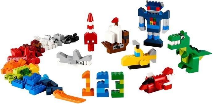 Изображение набора Лего 10693 Дополнение к набору для творчества - яркие цвета