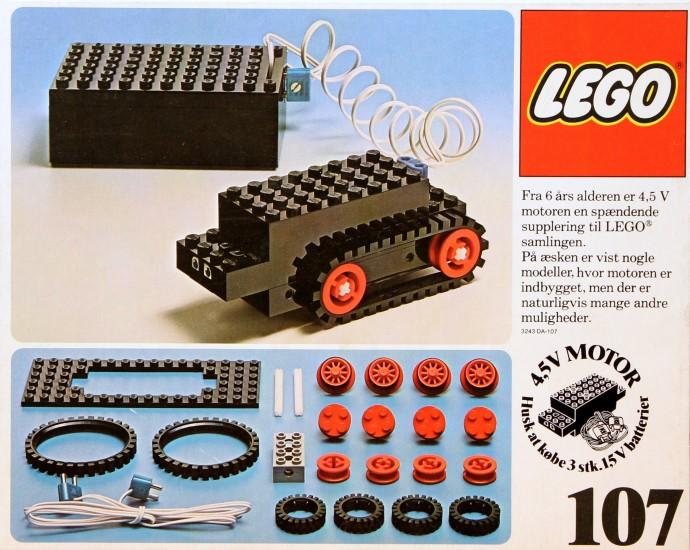 Изображение набора Лего 107 Universal Motor