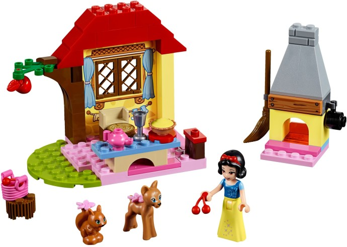10738 1 Snow White S Forest Cottage Brickset Lego Set