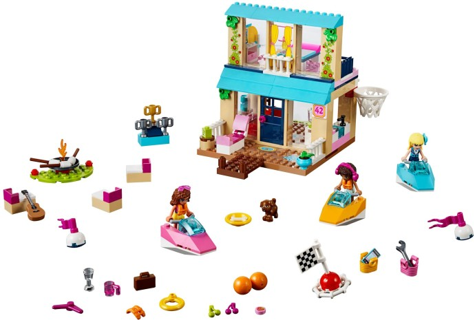 lego friends stephanie car instructions