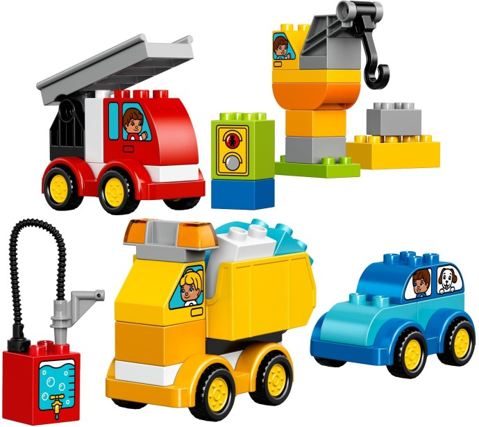 10816 1 My First Cars And Trucks Brickset Lego Set Guide And