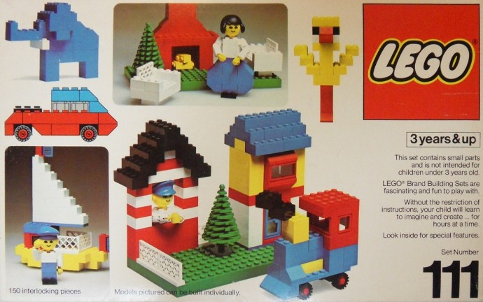 Lego 111 Building Set, 3+ image